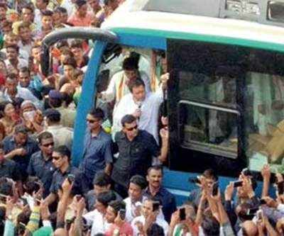 Rahul targets Modi, Shah over corruption, job loss