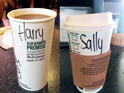 Why I use 'Harry' as my Starbucks name