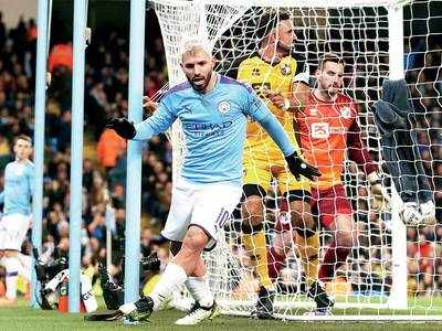 Manchester City lash four past Port Vale in FA Cup