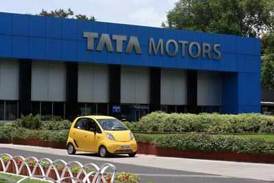 Tata Motors shares tank 14 per cent; Sensex drops over 200 points