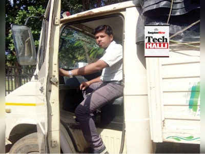 What the Truck: Techies are forced to use trucks between NICE Road and Tumkur Road