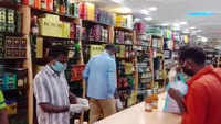 Liquor shops in Puducherry open after 2-month Covid-19 shutdown