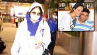 Hina Khan's father passes away due to cardiac arrest, actress returns to Mumbai