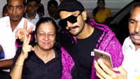 Ranveer Singh clicks selfies with fans in Mumbai