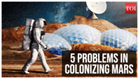 Colonizing Mars: 5 problems that need to be solved first
