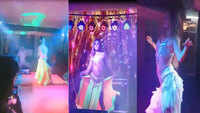 Watch: Belly dance act at resort throws up a storm in Idukki