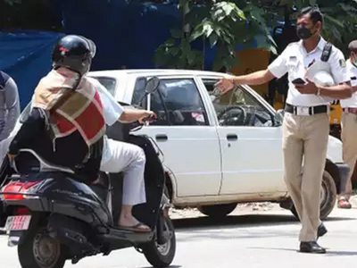 Traffic police want delivery personnel to toe the line