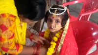 Durga Puja 2019: Muslim girl worshipped as 'kumari' in Kolkata