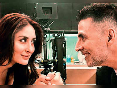 Akshay Kumar and Kareena Kapoor groove to the tunes of a reprised version of 'Sauda Khara Khara' for Good News