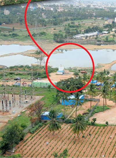 'Water tanker mafia sucking our lake dry'