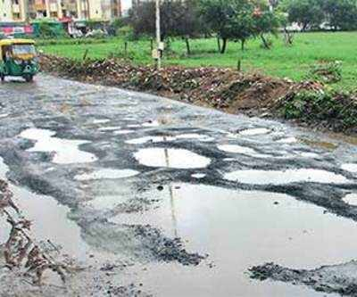 Bad roads: AMC yet to act against its officials