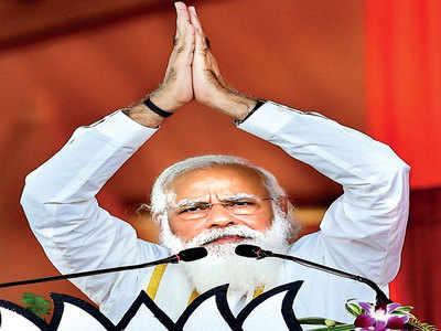 Modi opens coff ers for Assam ahead of polls