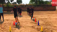 Battling tradition: Rajasthan child brides take to football
