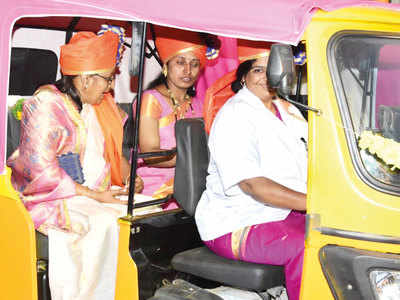 All-women auto stand revs up for Nigdi launch
