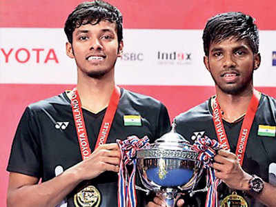 BWF Super 500: Satwiksairaj Rankireddy, Chirag Shetty create history