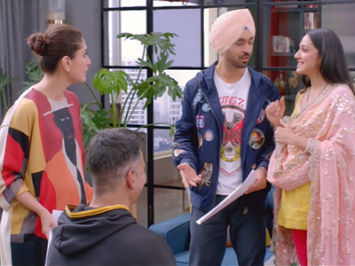 Good Newwz movie review: This Akshay Kumar, Kareena Kapoor Khan, Diljit Dosanjh-starrer is a mildly humourous situational comedy with a misplaced moral