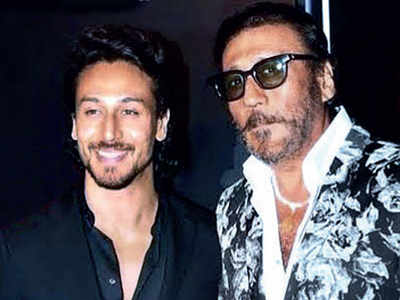 Three back-to-back shoots for Tiger Shroff and Jackie Shroff
