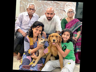 After 10 months, lakhs spent, Pune family reunited with beloved pet
