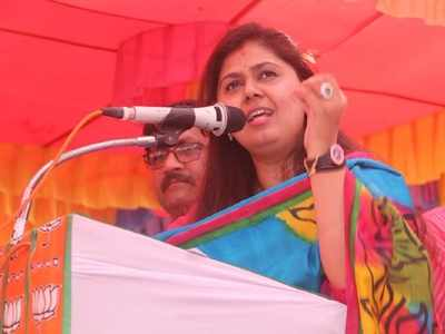 Pankaja Munde sparks row with her remarks on the constitution