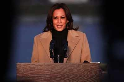 Pearls before swine: Kamala rises above pig fight to become first female US vice-president