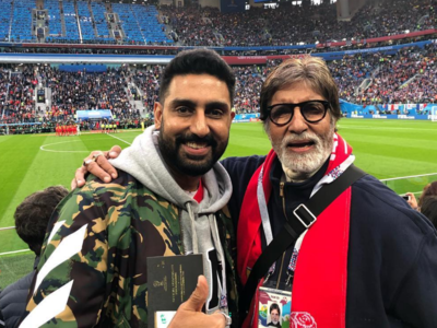 Amitabh Bachchan shares adorable letter written by little Abhishek Bachchan