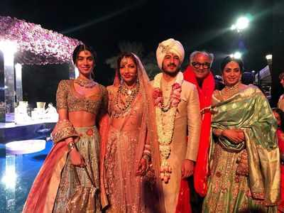 Sridevi's last pictures from Mohit Marwah's wedding