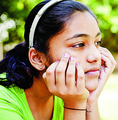 What makes one teen more resilient than the other?