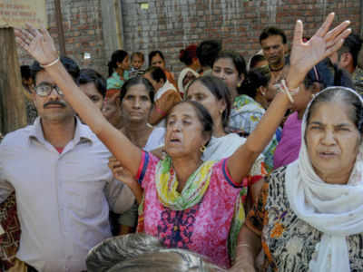 Amritsar train accident: Remember bodies flying, say survivors