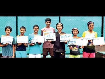 Oak, Deshmukh, Chetri, Bansode lift titles