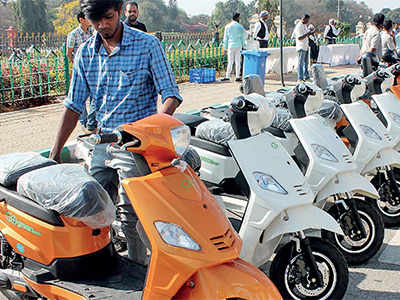 Electric Scooter Sharing Service Launched In Bengaluru The New