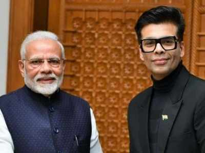 Karan Johar pens note for PM Modi, shares plans of creating 'inspiring content to celebrate 75 years of independence'