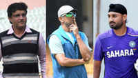 Conflict of interest notice to Rahul Dravid: Sourav Ganguly, Harbhajan Singh express displeasure