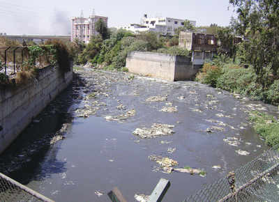 Heavy metals found in the only river that runs through the city