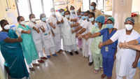Medical staff members gear up for Covid-19 vaccination drive across the country