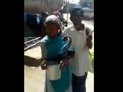 Fake alert: 2018 video of blind couple being harassed shared with misleading claims
