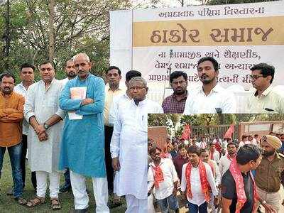 Thakor leaders vow not to support Alpesh