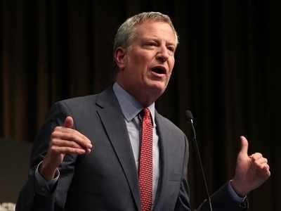 New York City Mayor Bill de Blasio announces bid for Democratic presidential nomination