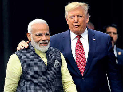 Howdy Modi: PM Narendra Modi shares stage with US President Donald Trump in Houstan, strikes a chord with Indian diaspora