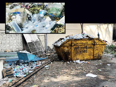 Pune Cantonment Board-run hospital dumps bio-waste in its garbage