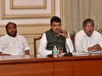 CM Devendra Fadnavis chairs meeting to review flood situation in Maharashtra
