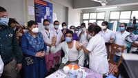 Surat: Vaccination drive begins, Dr Rahul Modi gets first shot