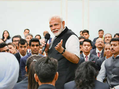 PM Narendra Modi meets Asian Games 2018 medal winners