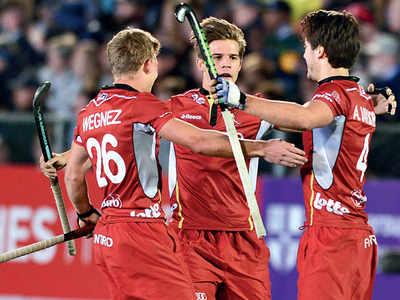 Hockey: Belgium stake their claim