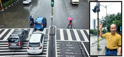 Only 6 signals in PMC limits aid pedestrians, finds study