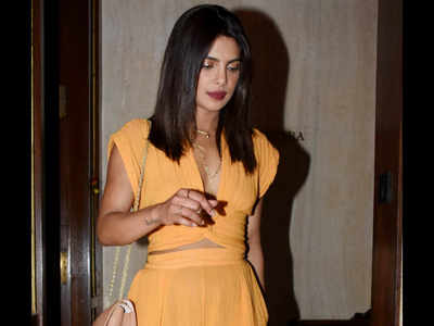 Priyanka Chopra shows off huge engagement ring from Nick Jonas
