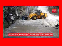 Dramatic rescue in Chamba caught on cam
