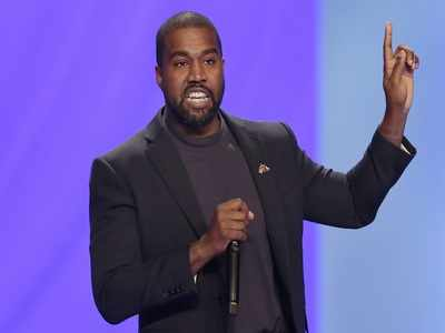American Rapper Kanye West Peeing on a Grammy Award Has Internet Shook