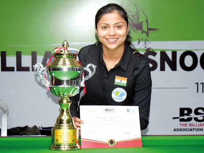 Amee wins Ladies Billiards title