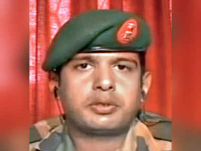 Army officer hurt in road rage