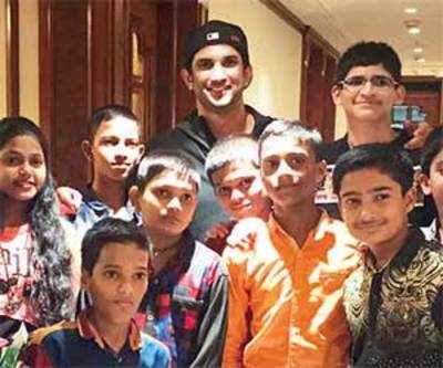 Sushant Singh Rajput gives wings to young astronaut's dreams